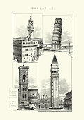 History of Architecture - Campanile - Bell Towers