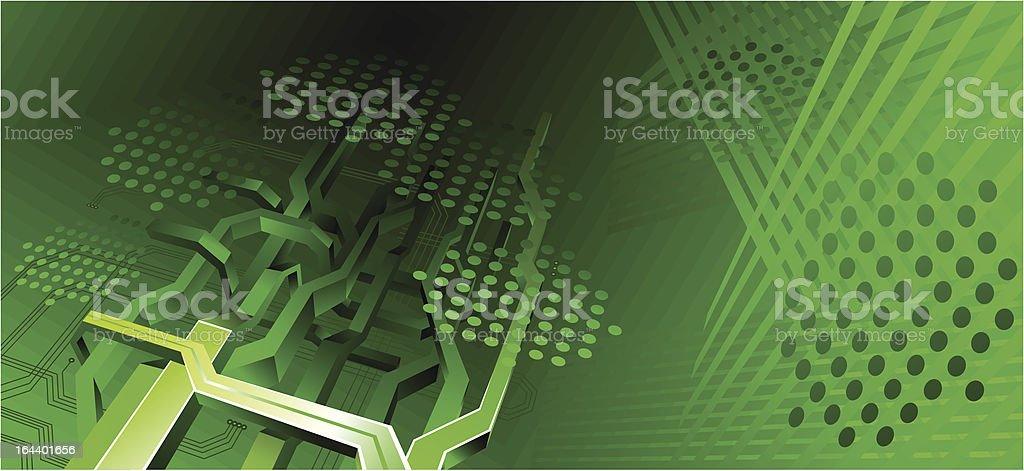 hi-tech background royalty-free stock vector art