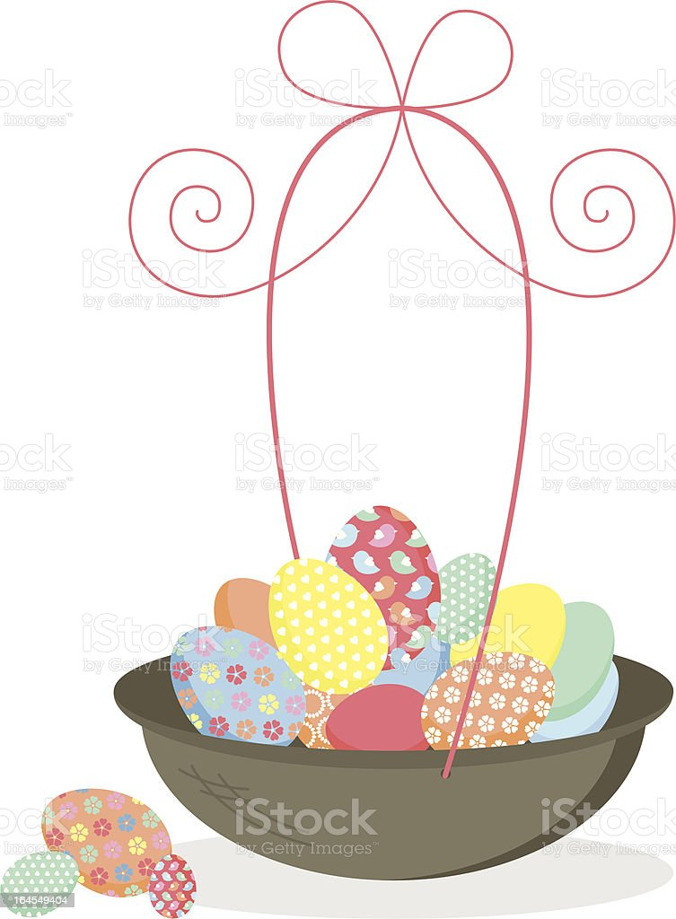 \'Holiday Easter egg basket & bow, perfect for collecting eggs on your...