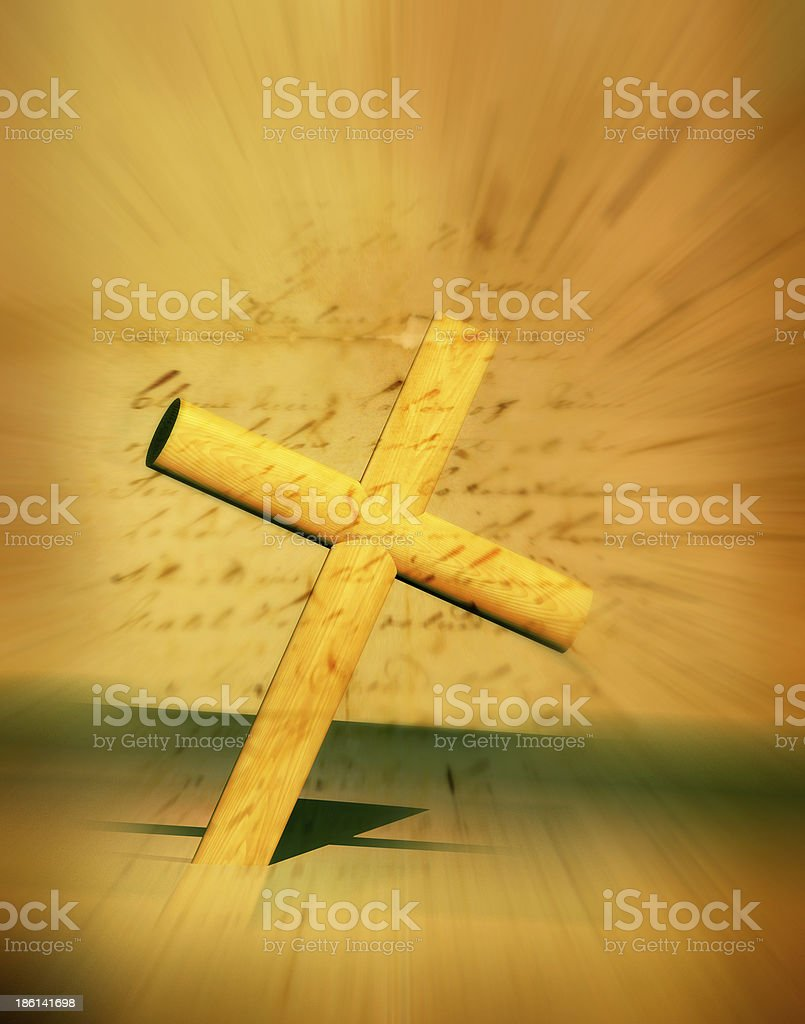 Holy Cross vector art illustration