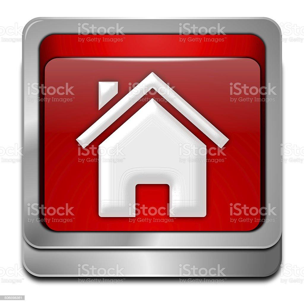Home Button royalty-free stock vector art
