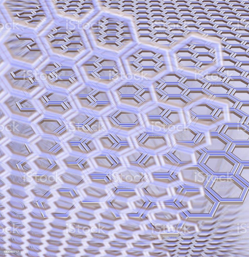 Honeycomb 02 (rendering) royalty-free stock vector art