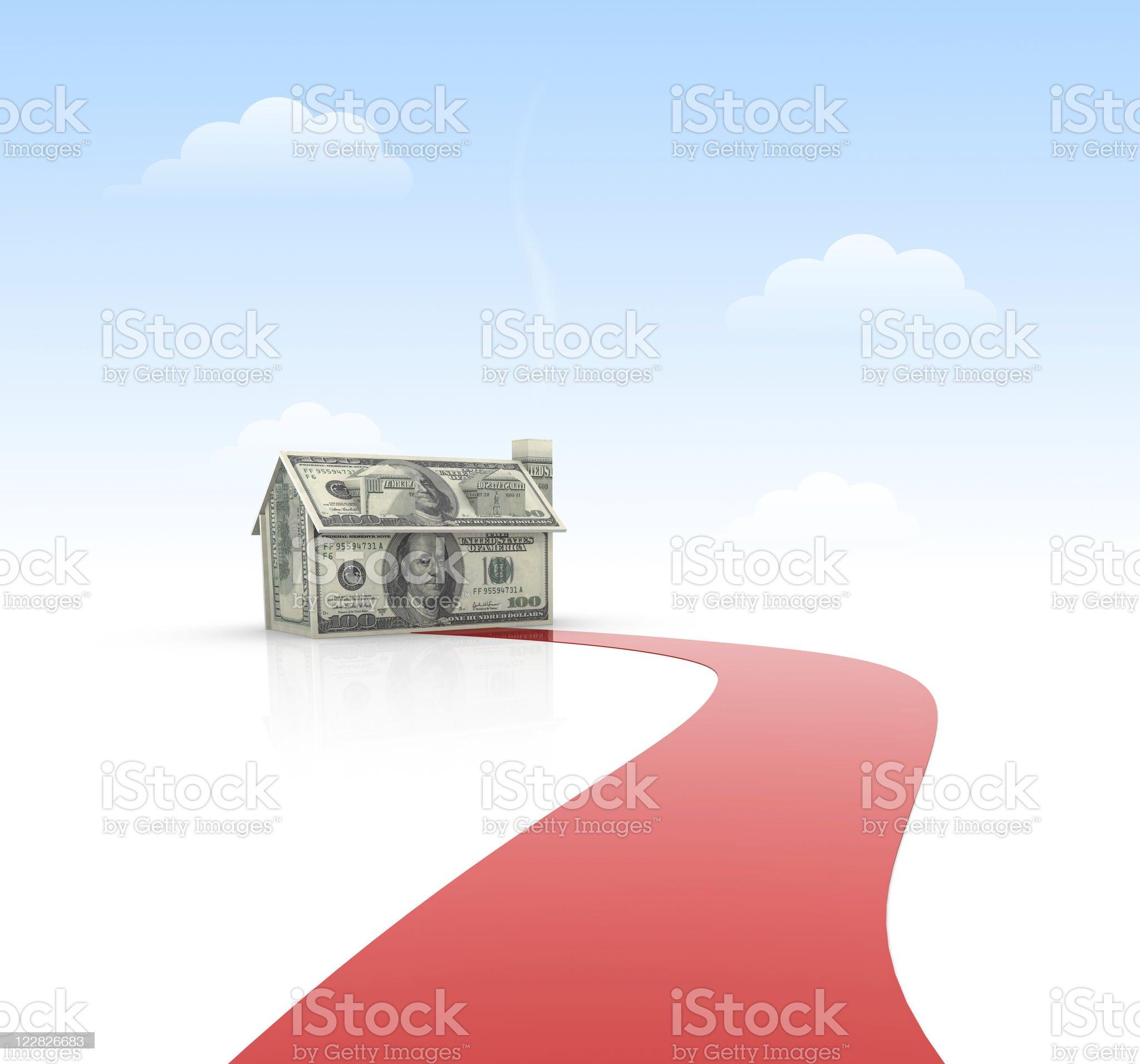 House Dream royalty-free stock vector art