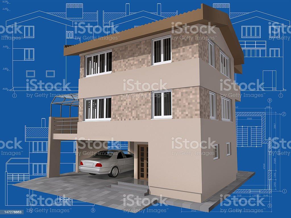 House. royalty-free stock vector art