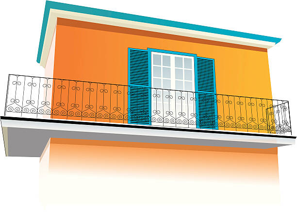 Balcony clip art vector images illustrations istock