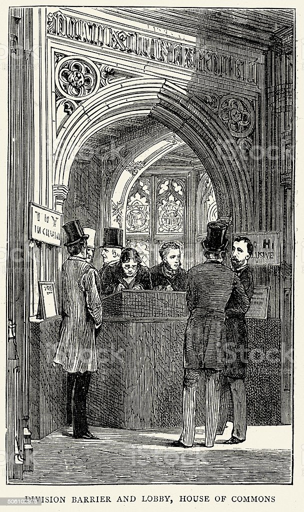 House of Commons royalty-free stock vector art