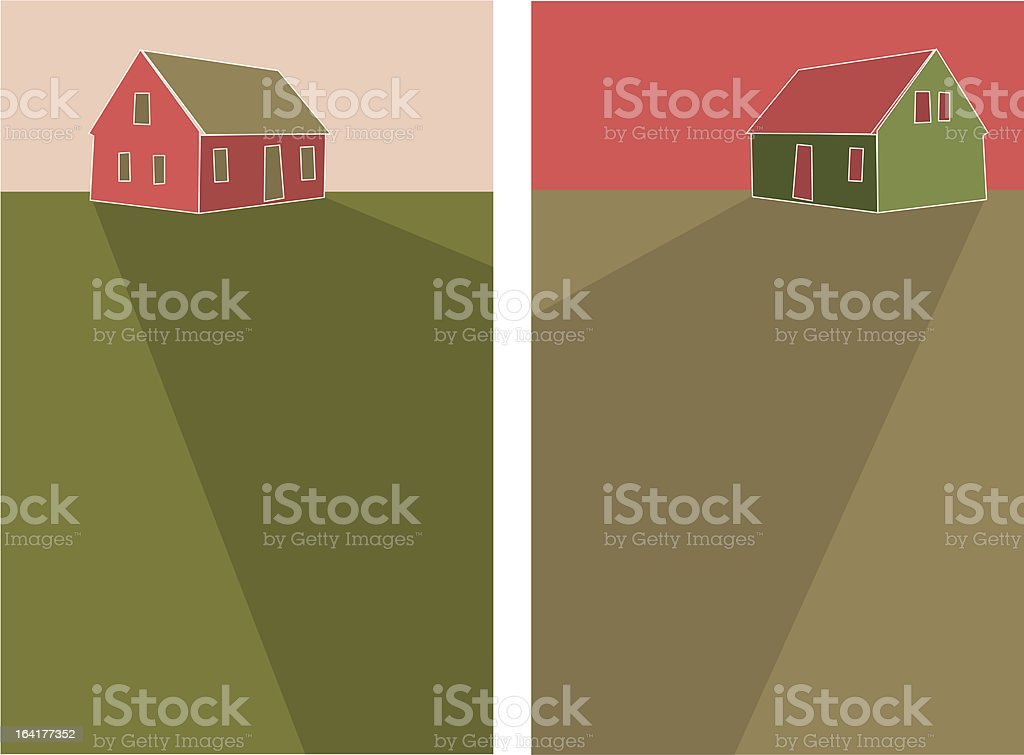 Houses royalty-free stock vector art