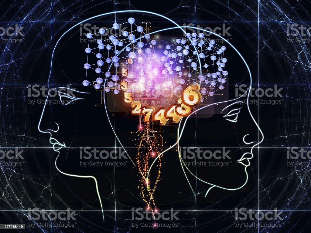 Human technology royalty-free stock vector art