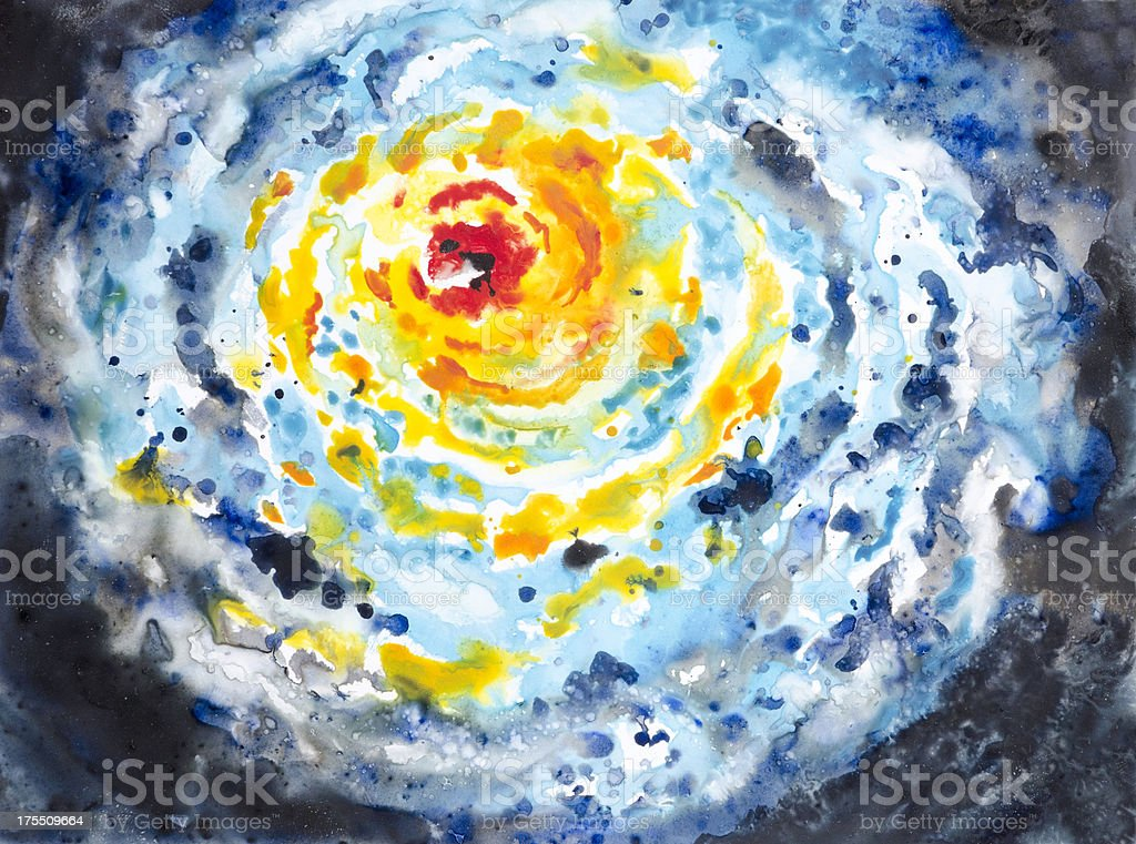 Hurricane Storm System royalty-free stock vector art