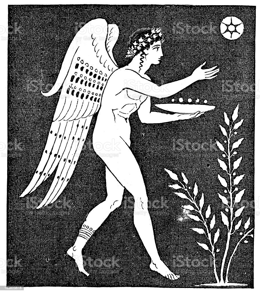 Icarus royalty-free stock vector art