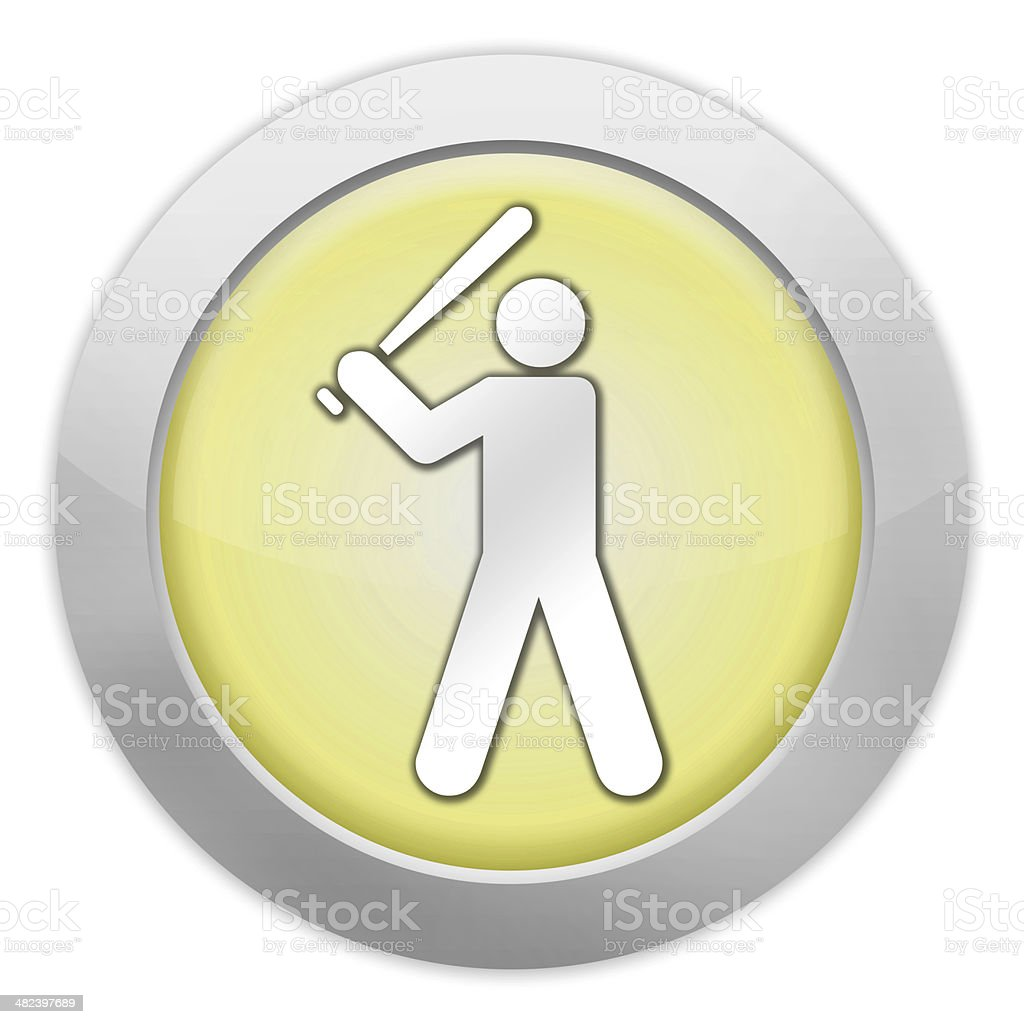 Icon, Button, Pictogram Baseball royalty-free stock vector art