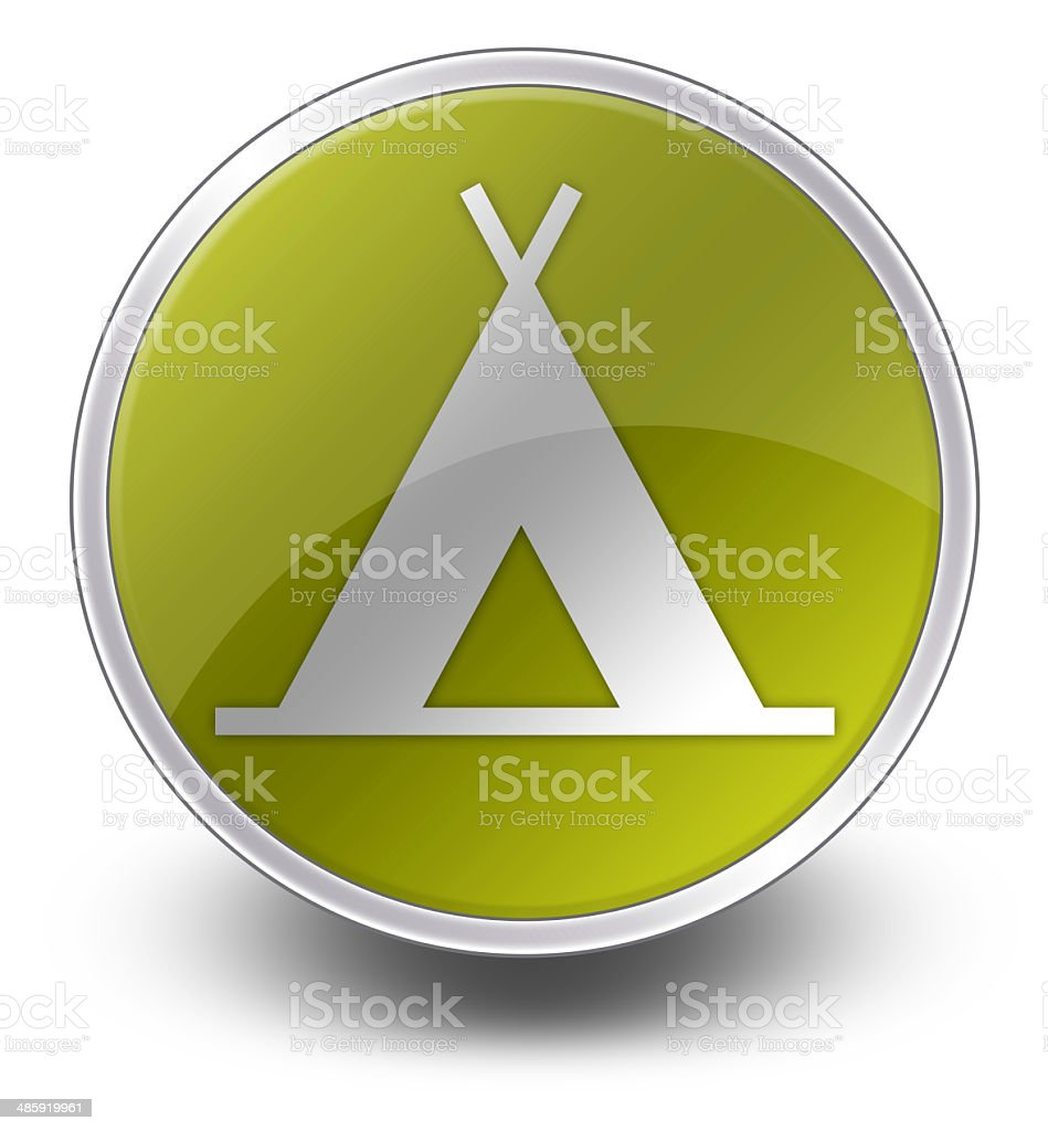 Icon, Button, Pictogram Camping royalty-free stock vector art