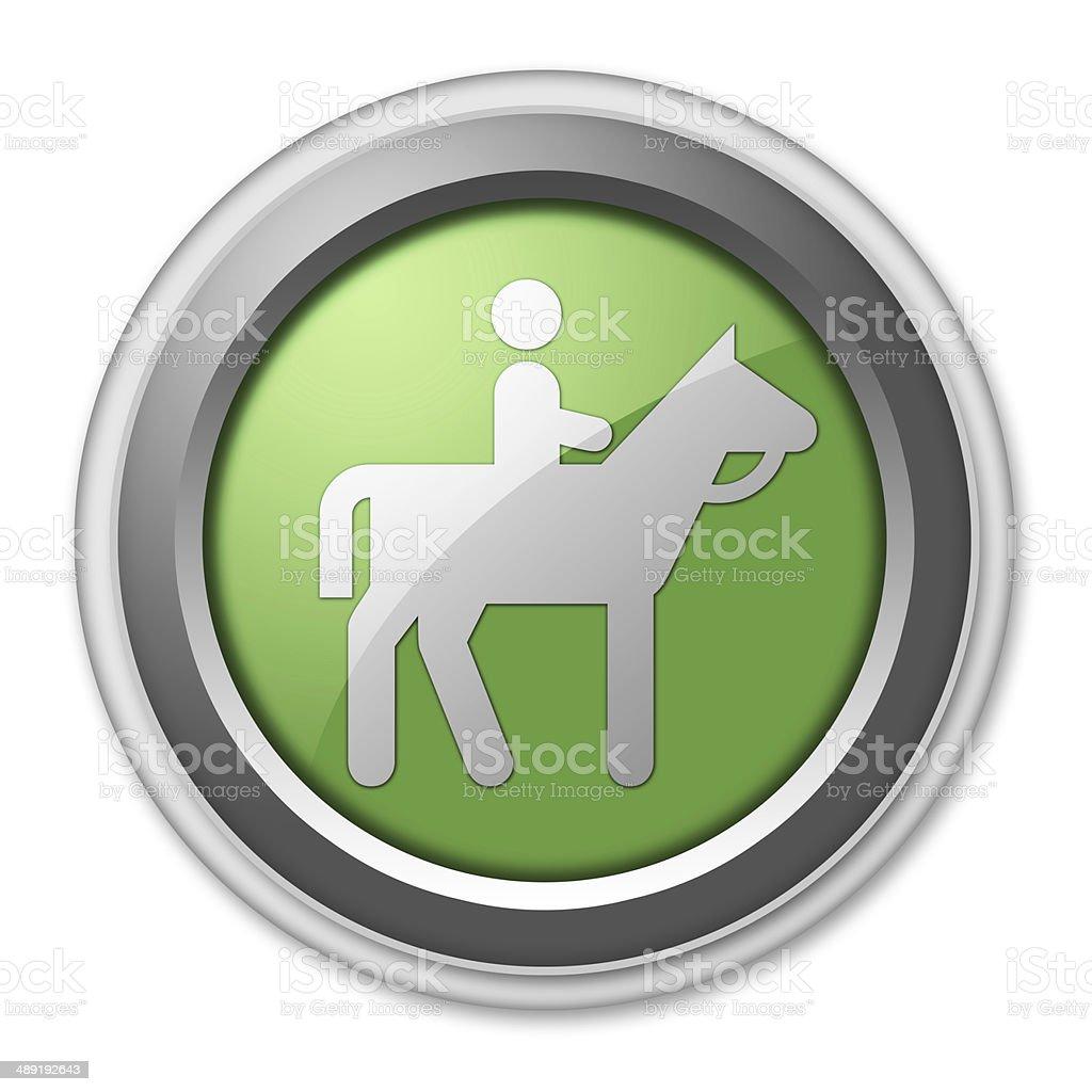 Icon, Button, Pictogram Horse Trail vector art illustration