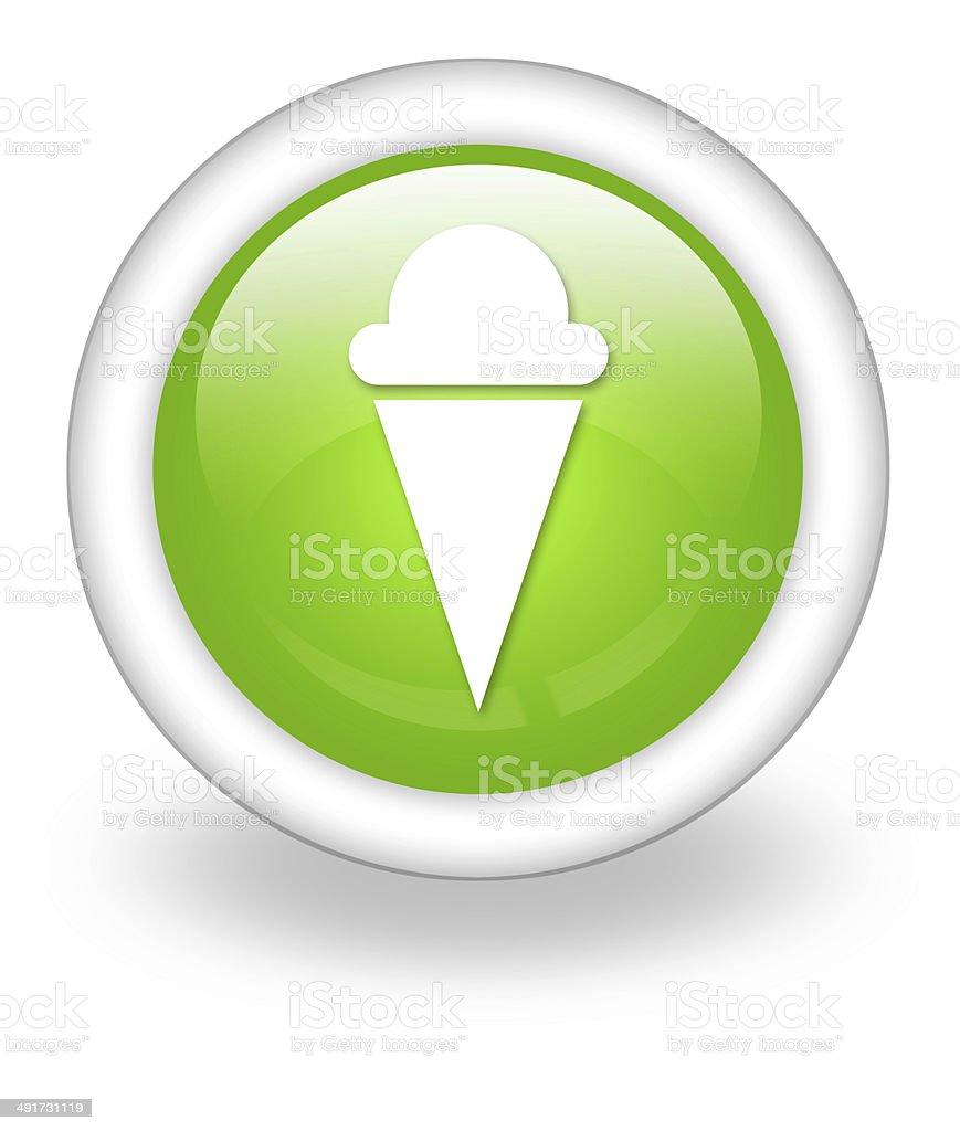 Icon, Button, Pictogram Ice Cream vector art illustration