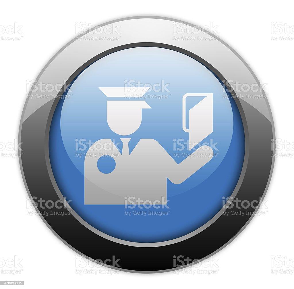 Icon, Button, Pictogram Immigration vector art illustration