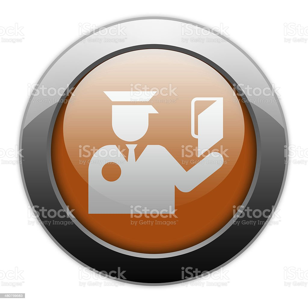 Icon, Button, Pictogram Immigration royalty-free stock vector art