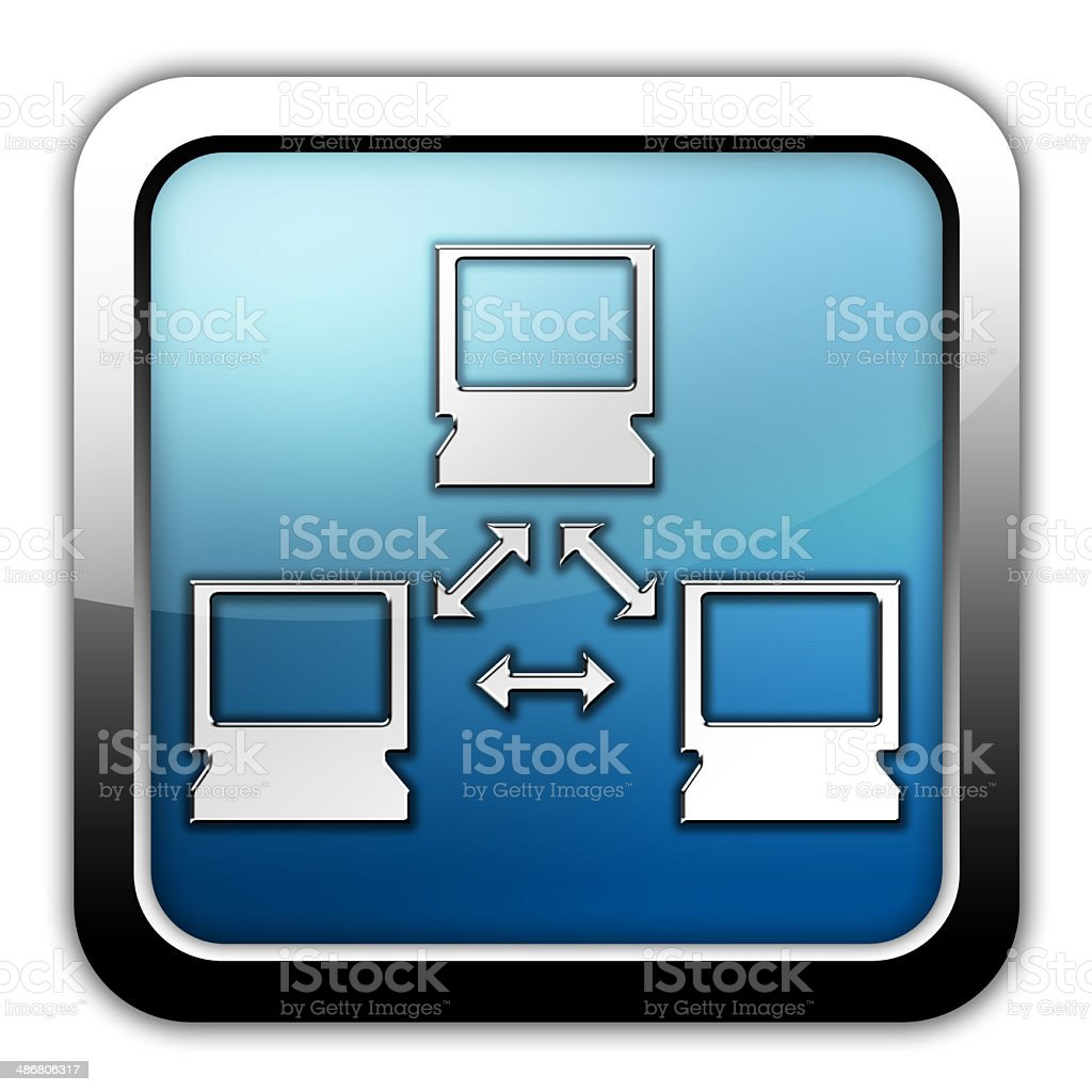Icon, Button, Pictogram Network royalty-free stock vector art