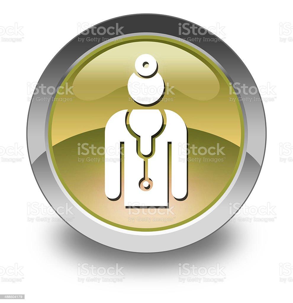 Icon, Button, Pictogram Physician royalty-free stock vector art