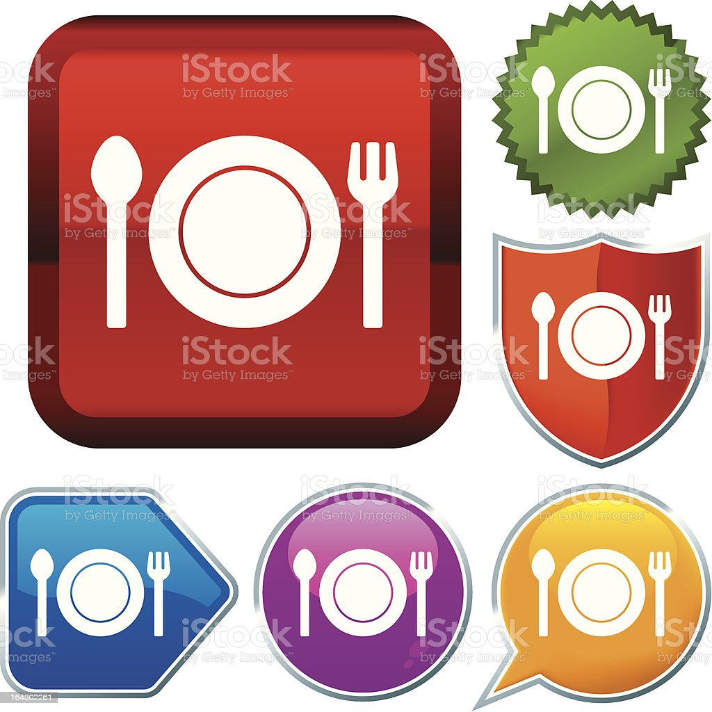icon series: food royalty-free stock vector art