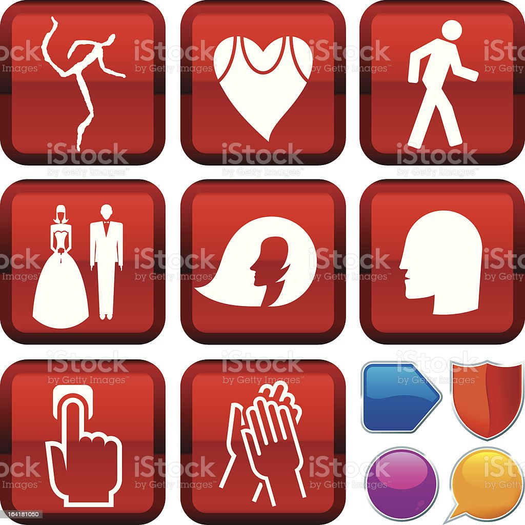icon series: people royalty-free stock vector art