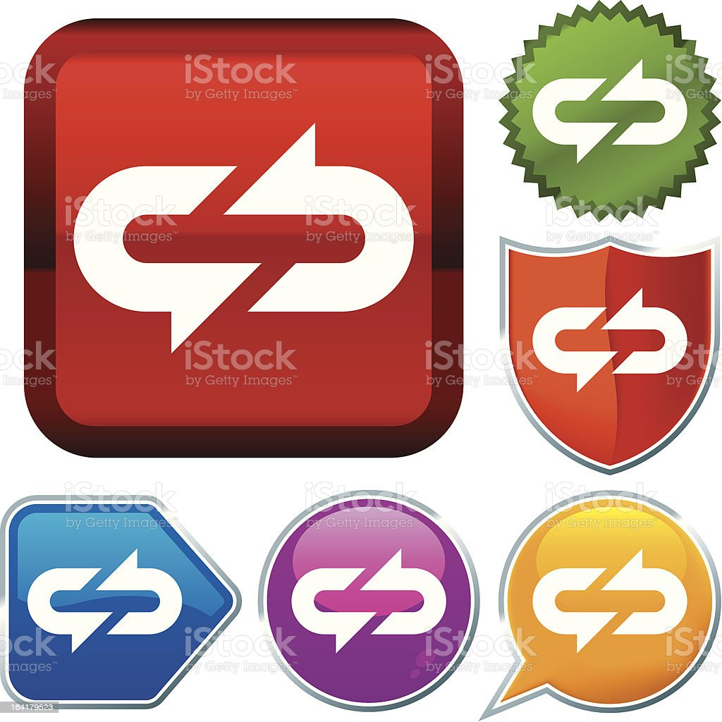 icon series: syncro royalty-free stock vector art