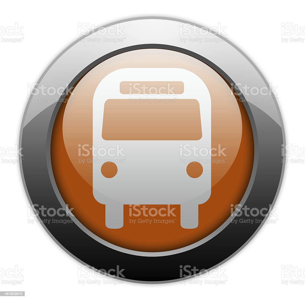 Icon/Button/Pictogram 'Bus / Ground Transportation' royalty-free stock vector art