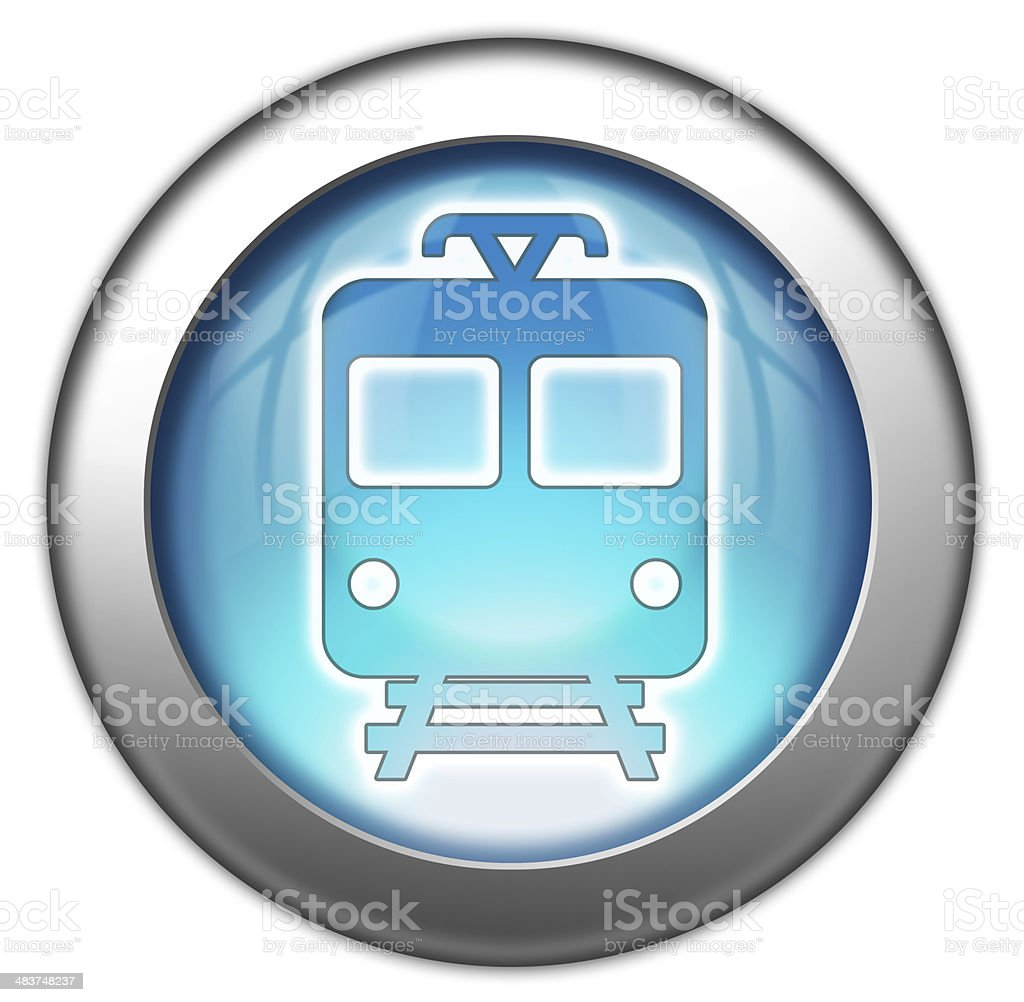Icon/Button/Pictogram 'Train / Mass Transit' royalty-free stock vector art