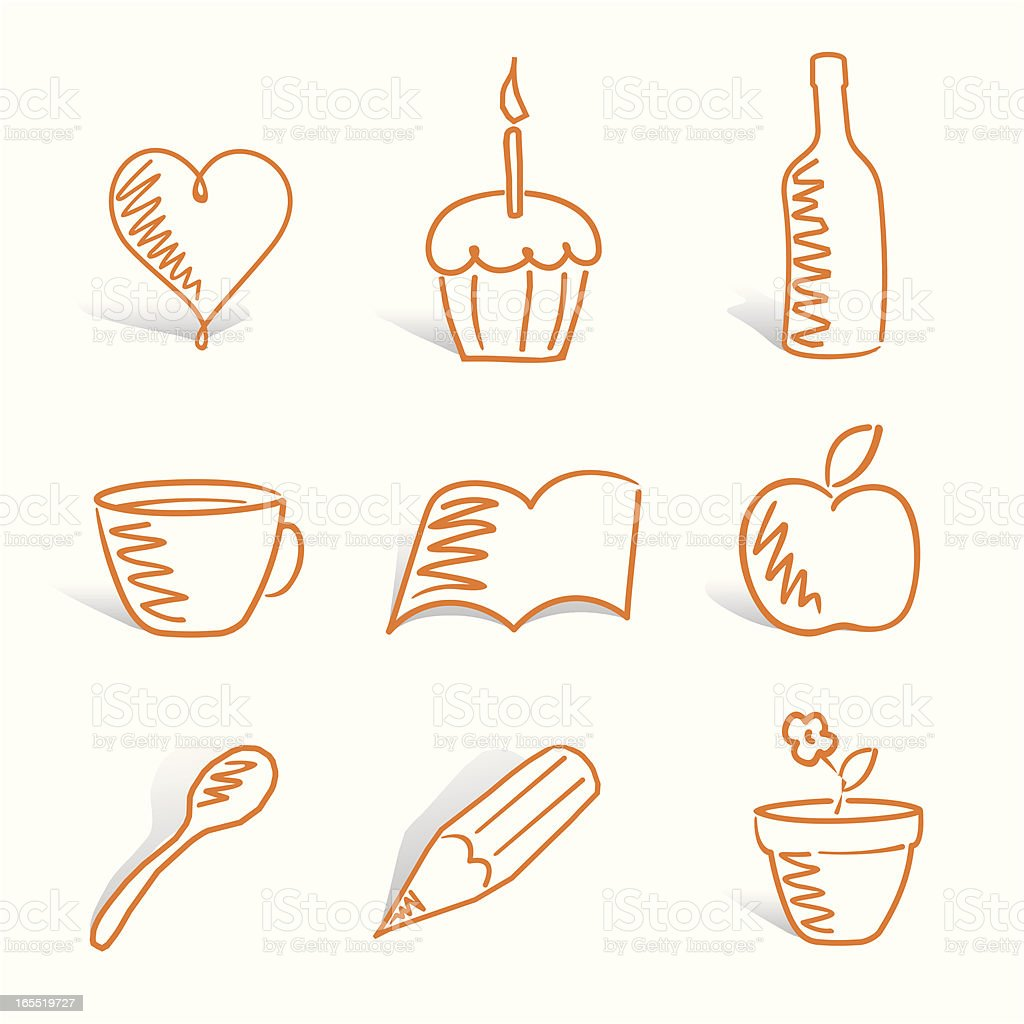 icons royalty-free stock vector art