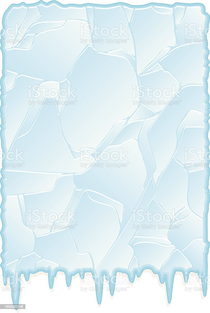 icy background royalty-free stock vector art