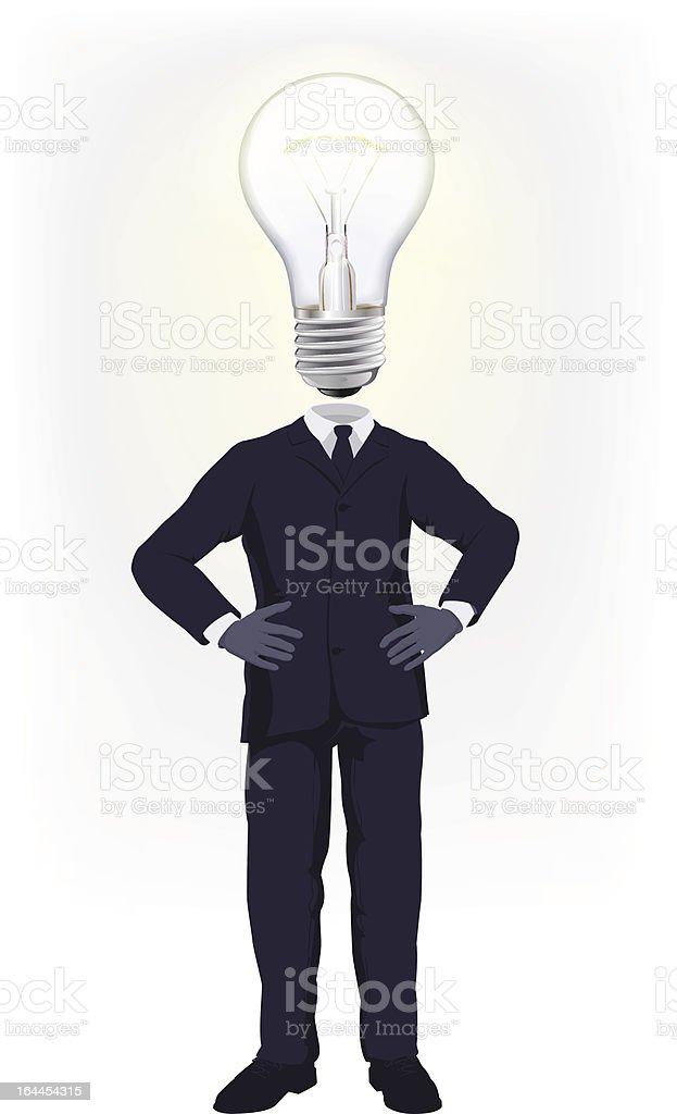 Ideas man royalty-free stock vector art