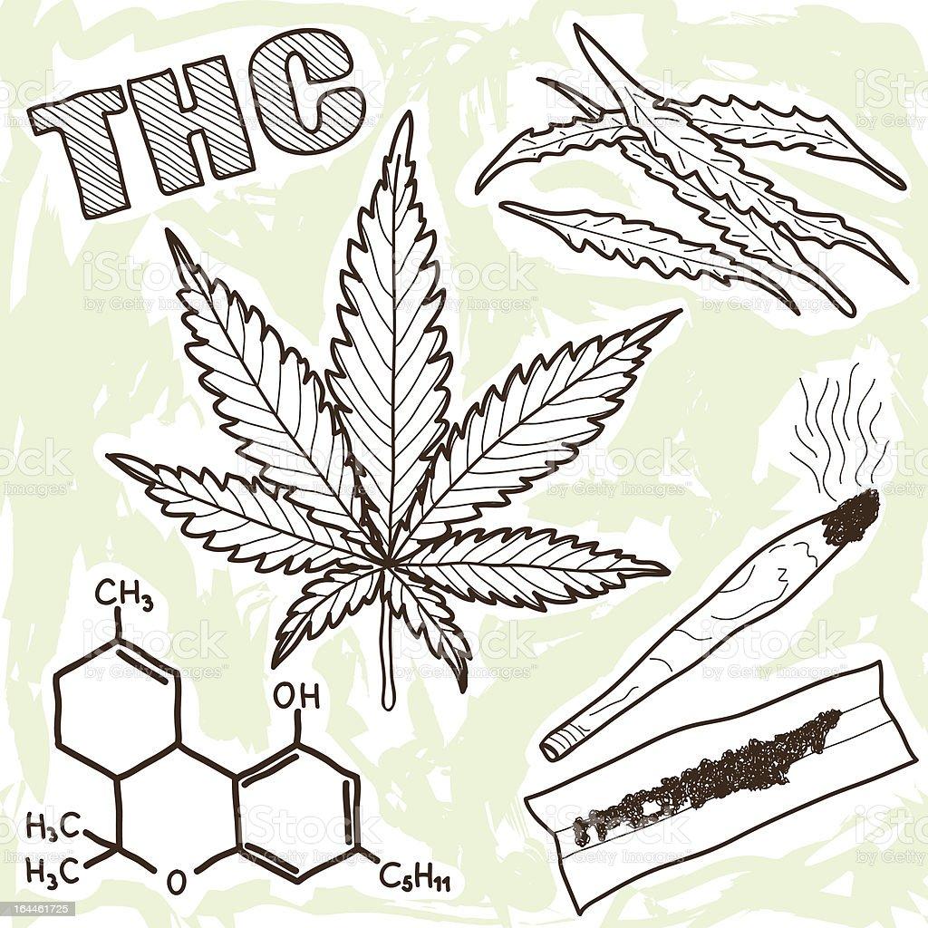 Dibujo Marihuana. Gallery Of Cmo Dibujar Hoja De Marihuana