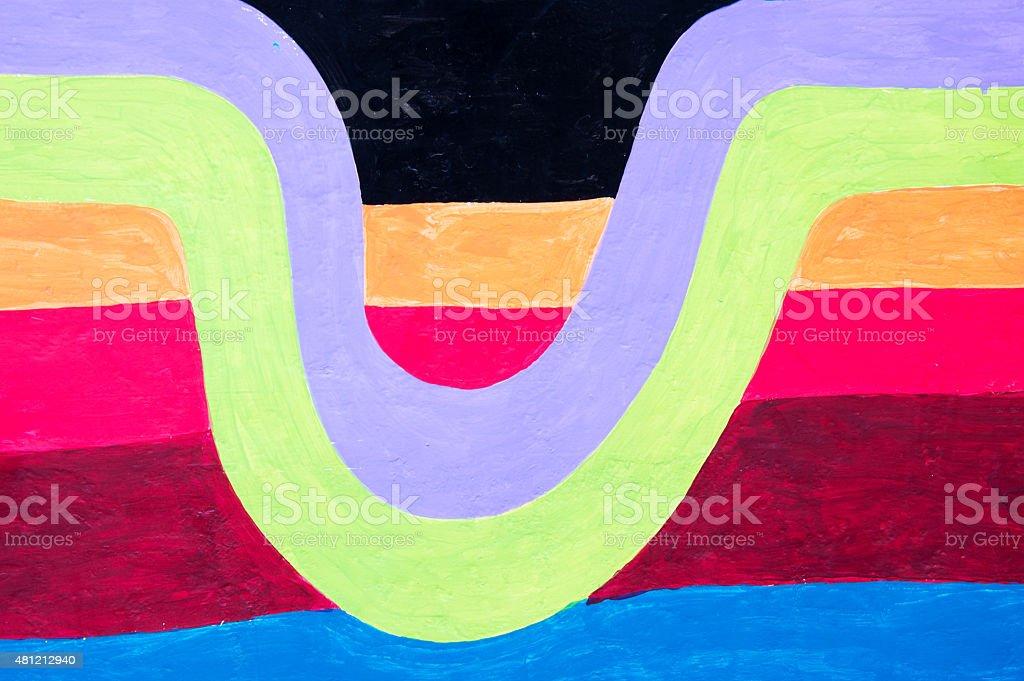 Illustrator colorful texture vector art illustration