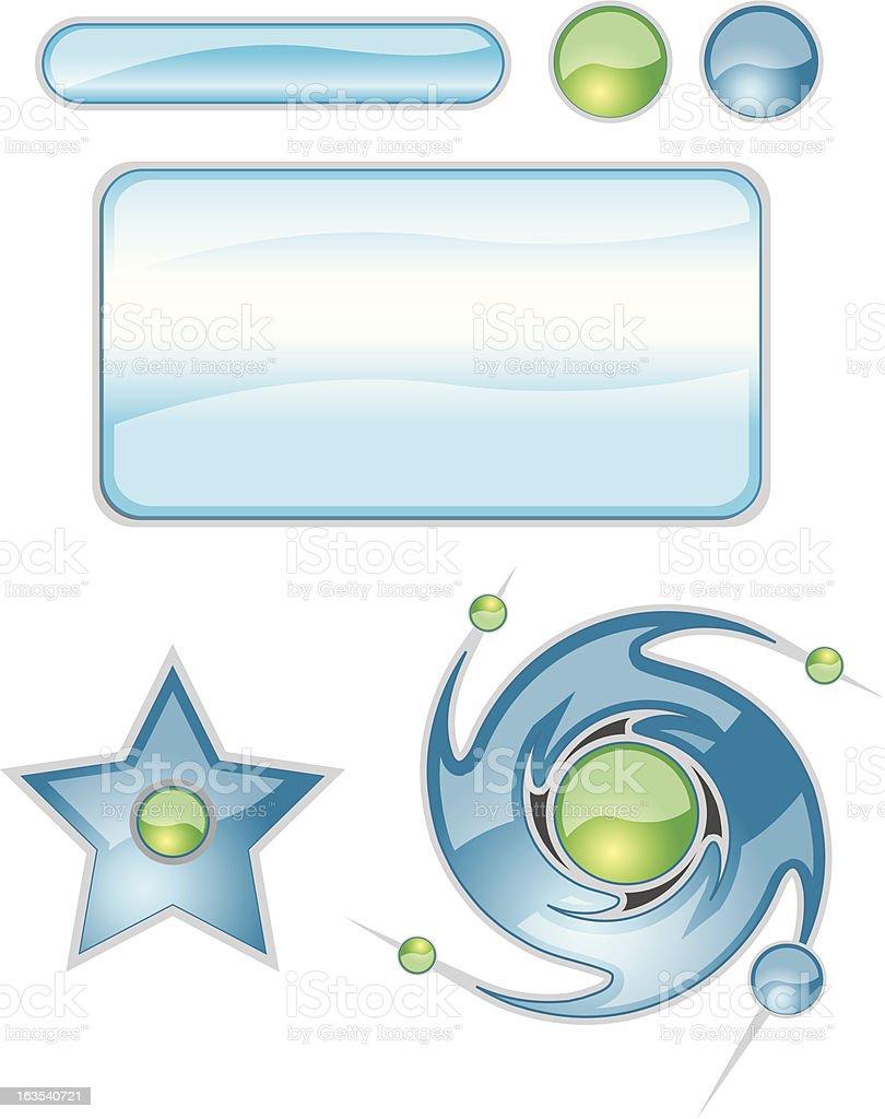 Illustrator elements vector art illustration