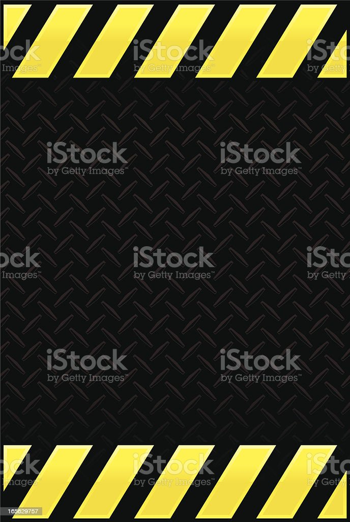 industrial diamond plate royalty-free stock vector art