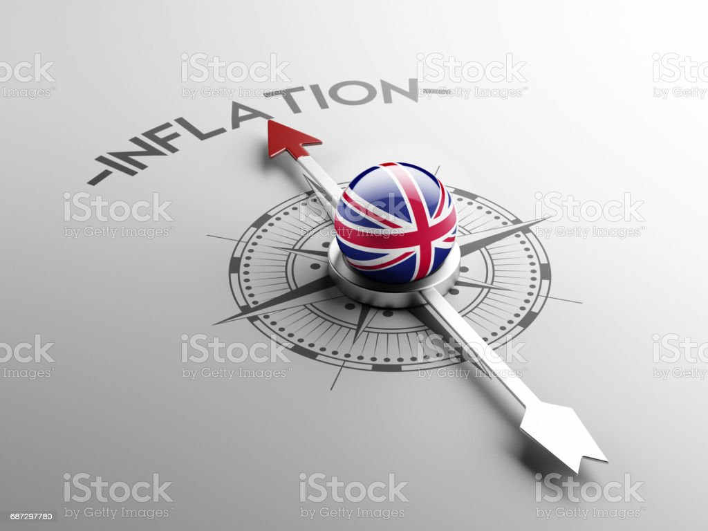 Inflation Concept stock photo