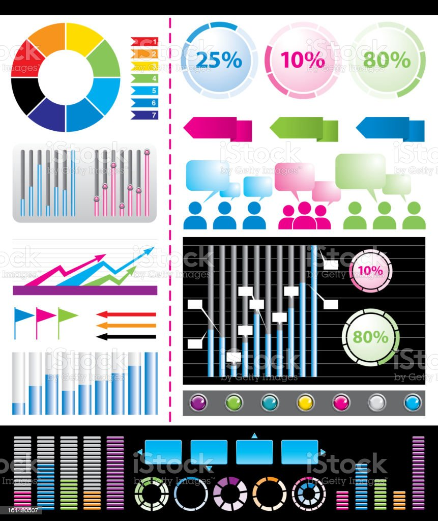 Infographics royalty-free stock vector art