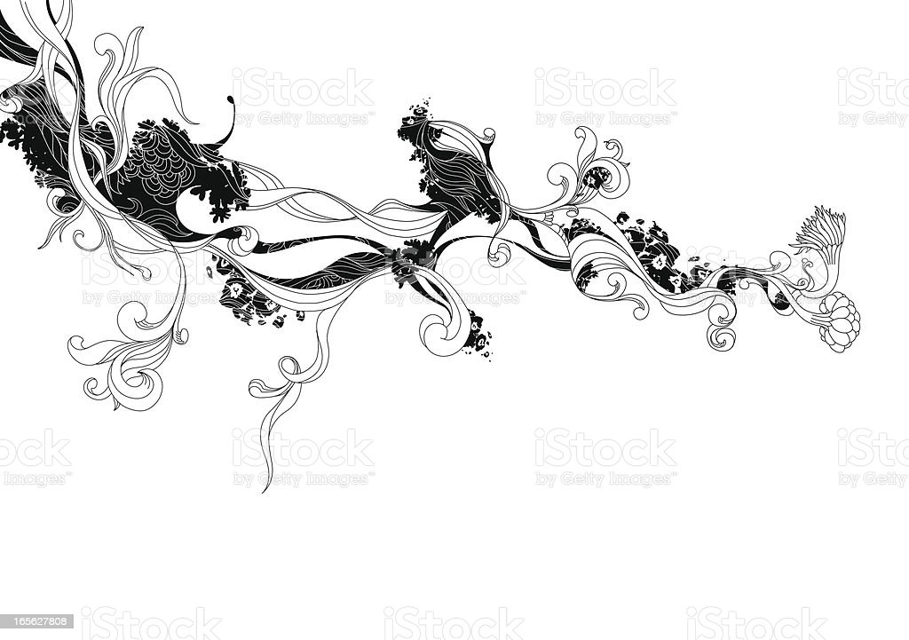 Ink Doodle royalty-free stock vector art