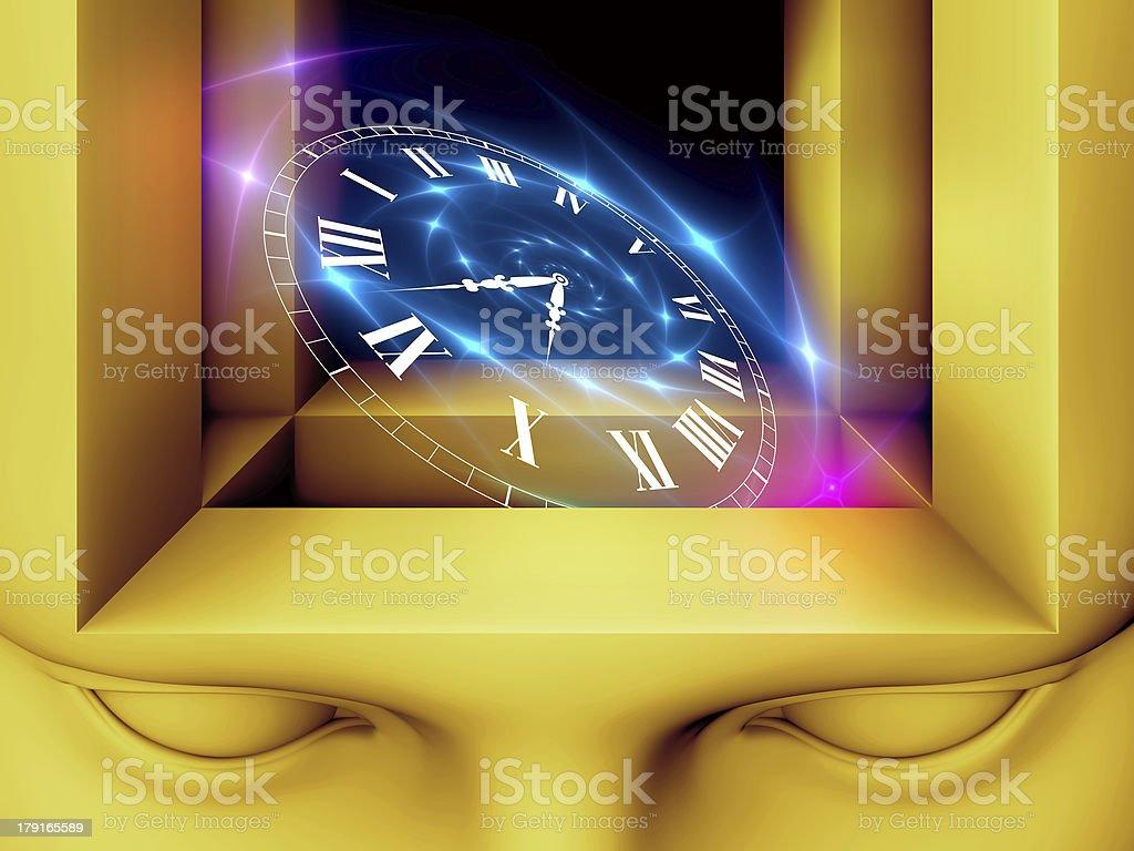Inner Life of Mind royalty-free stock vector art
