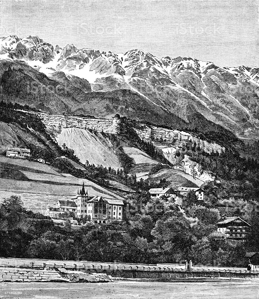 Innsbruck royalty-free stock vector art