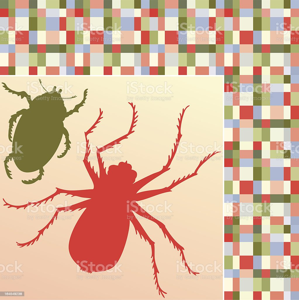 Insects (vector) vector art illustration