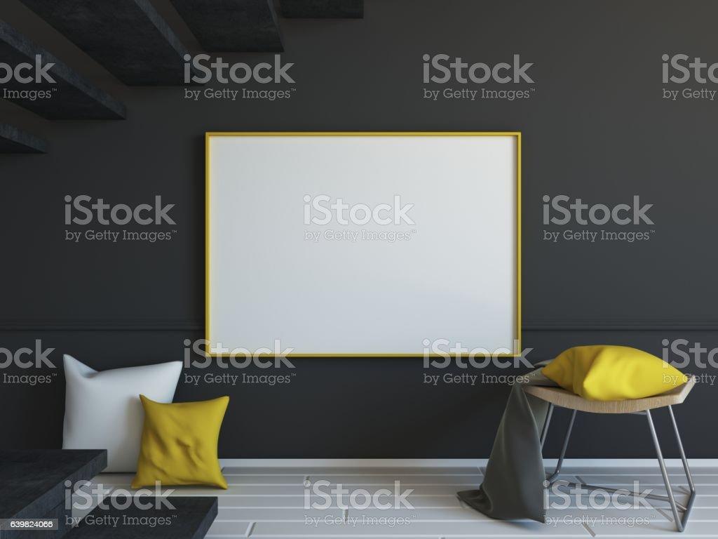 Blackboard Domestic Room Living Model