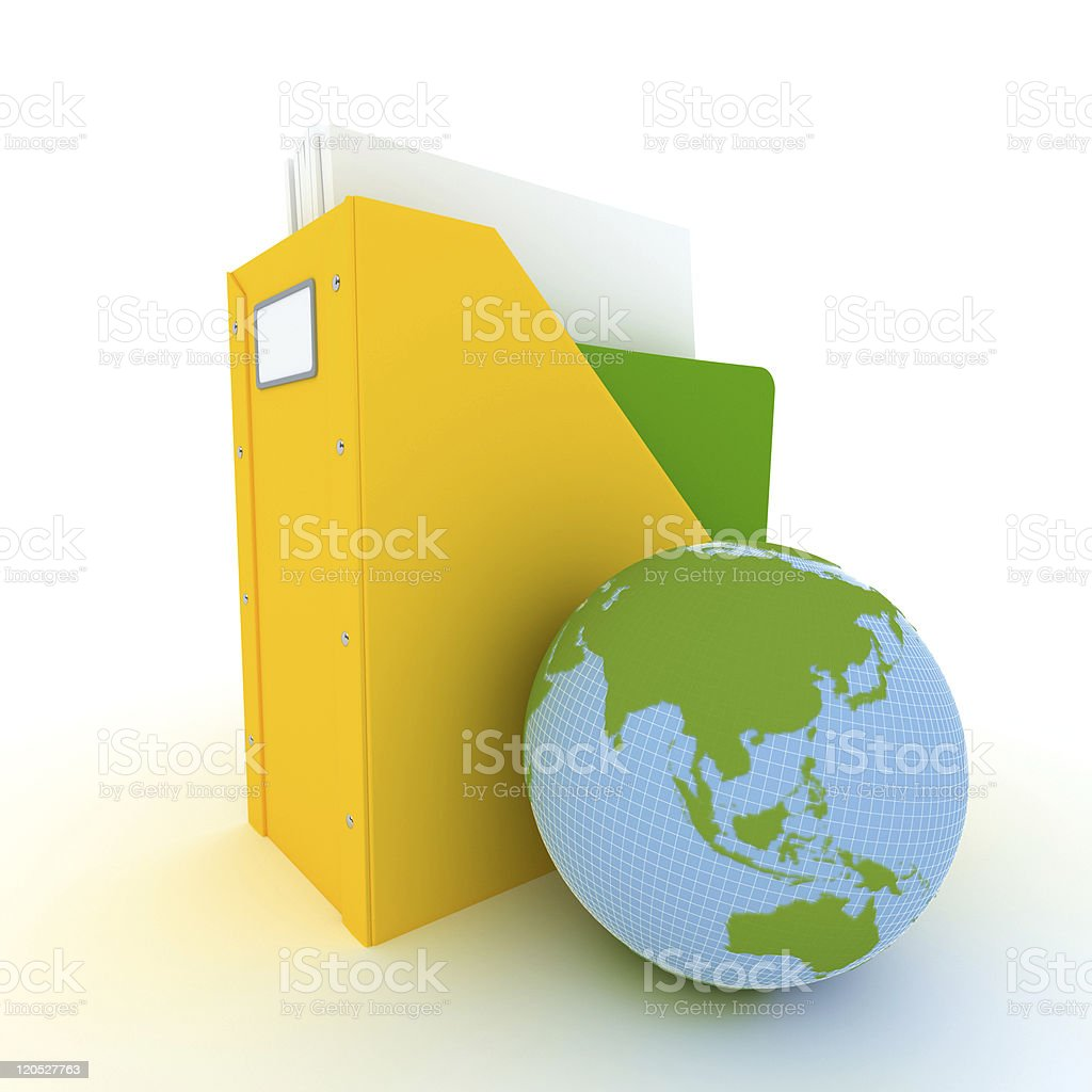 International files Atlantic vector art illustration
