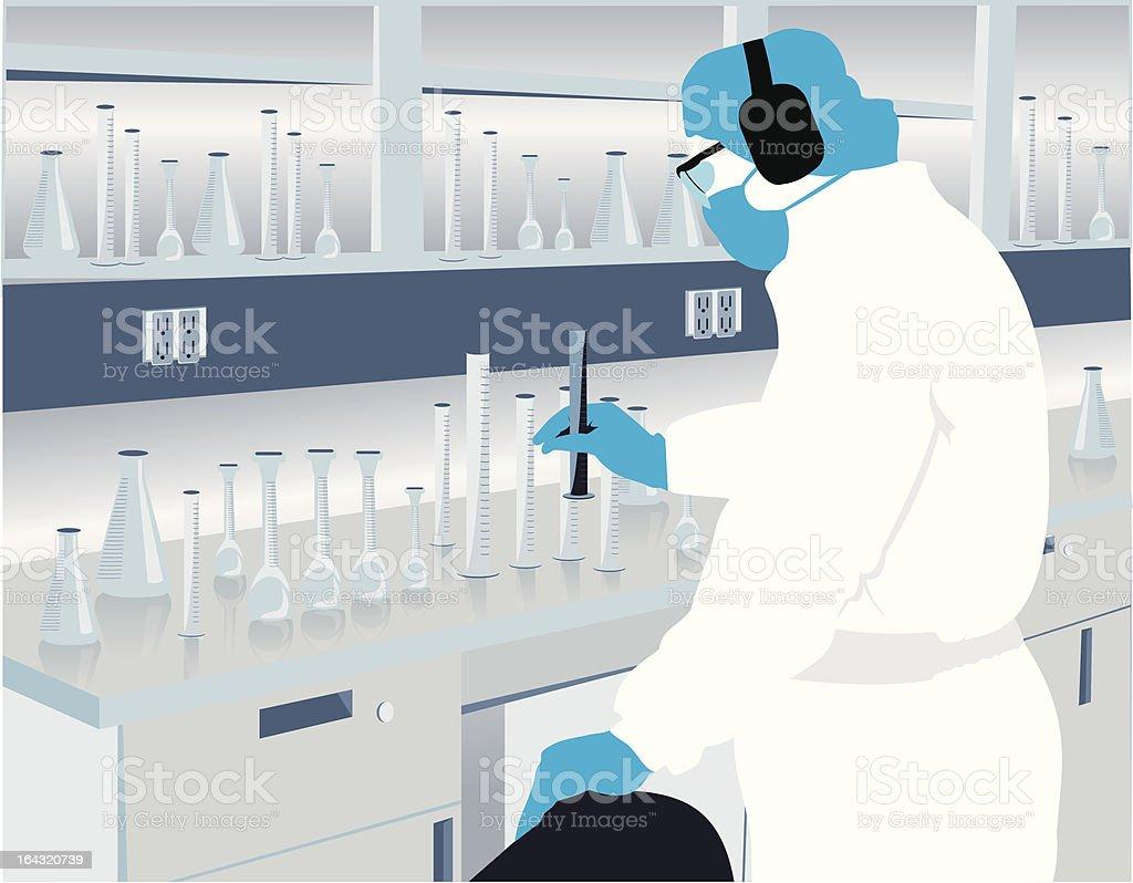 Investigator vector art illustration