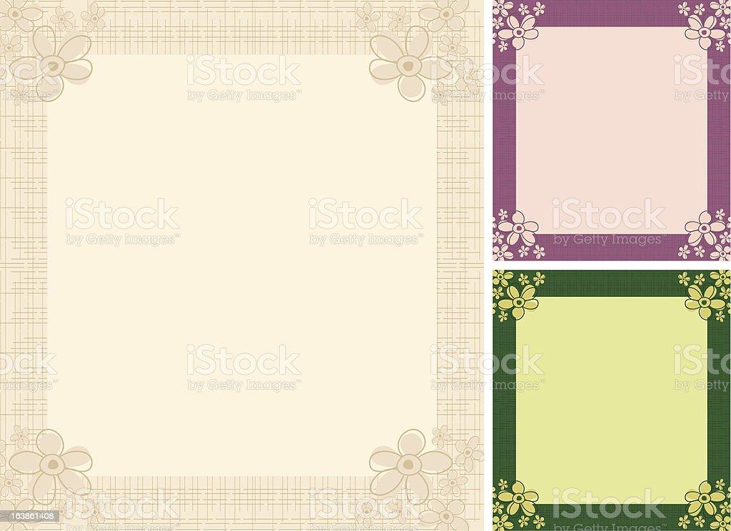 Invitation template royalty-free stock vector art