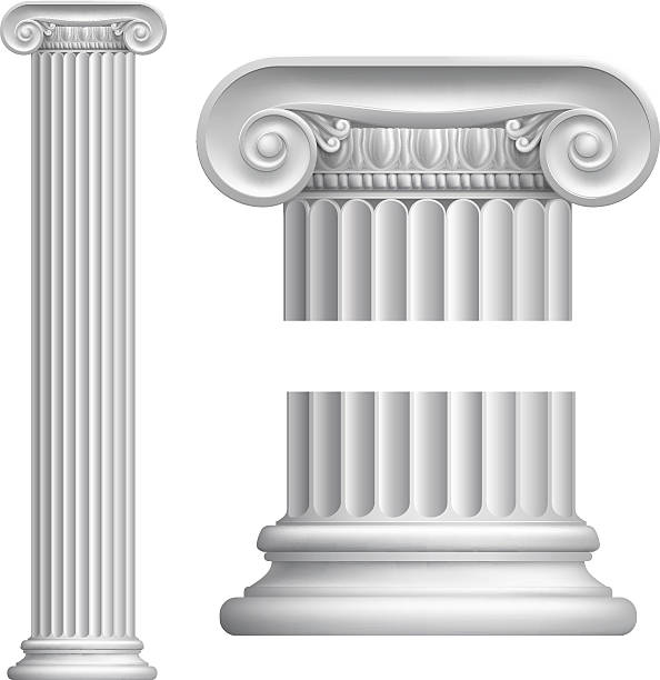 Pillar Clip Art : Roman columns clip art vector images illustrations istock