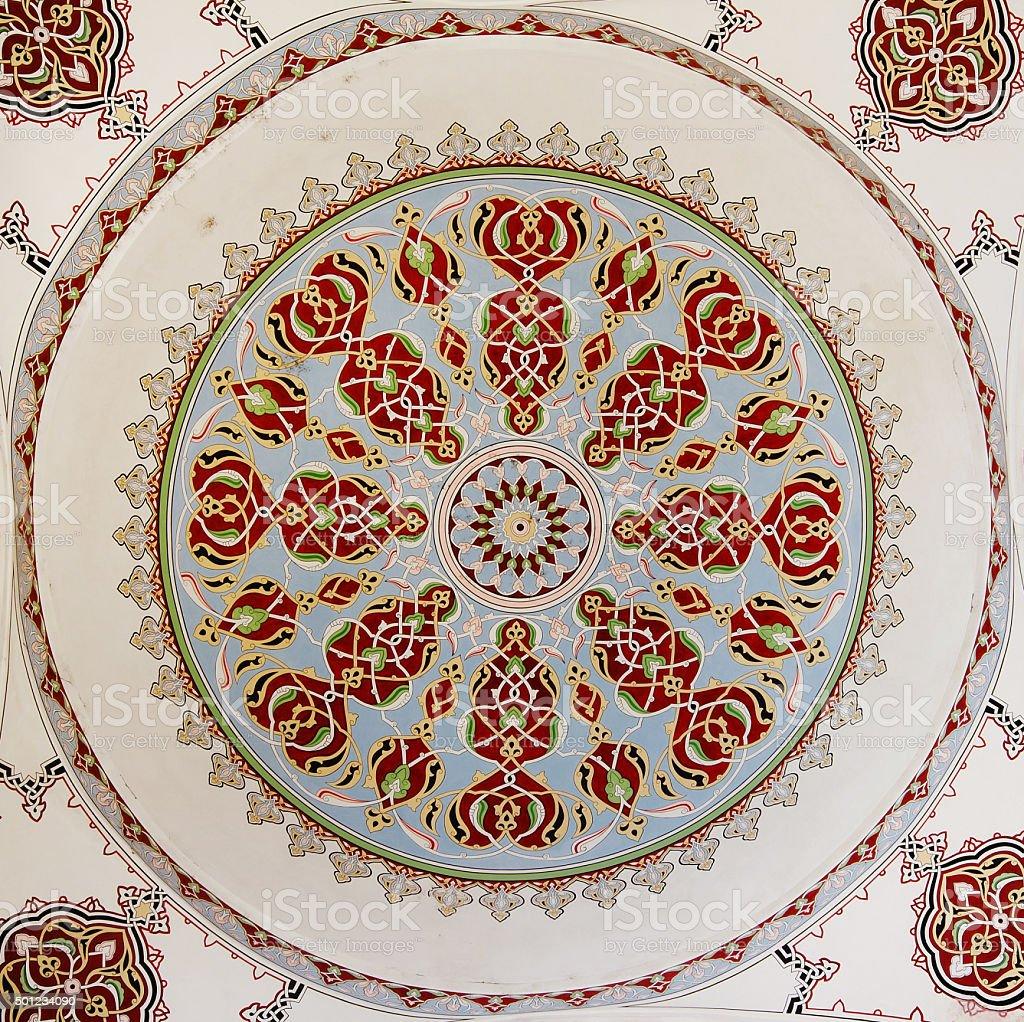Islamic geometric pattern vector art illustration