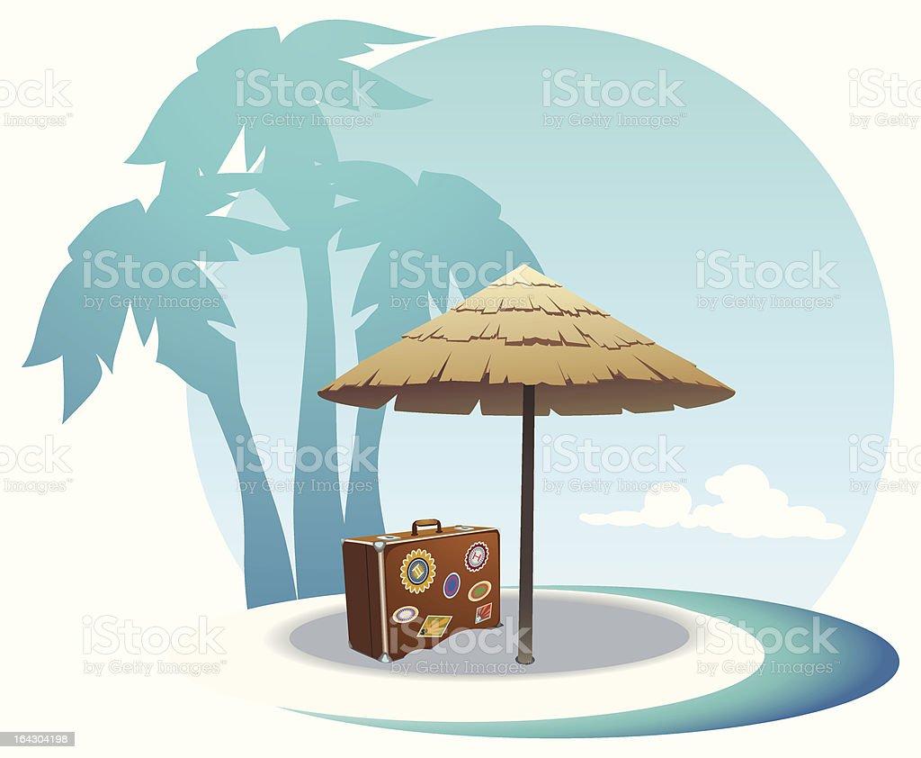 island coast royalty-free stock vector art