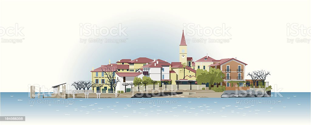 Island royalty-free stock vector art