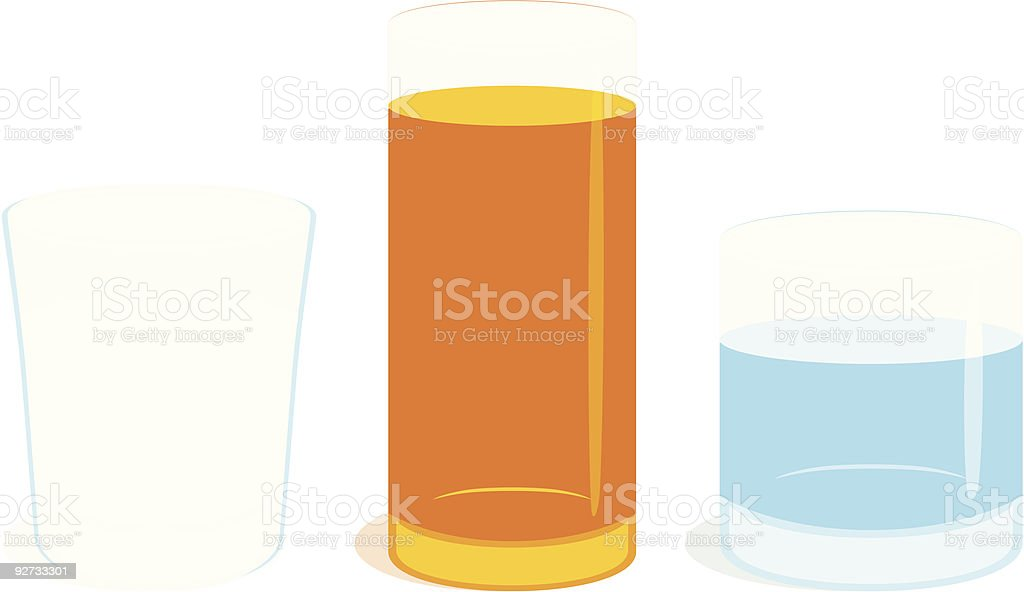 isolated transparent glasses royalty-free stock vector art