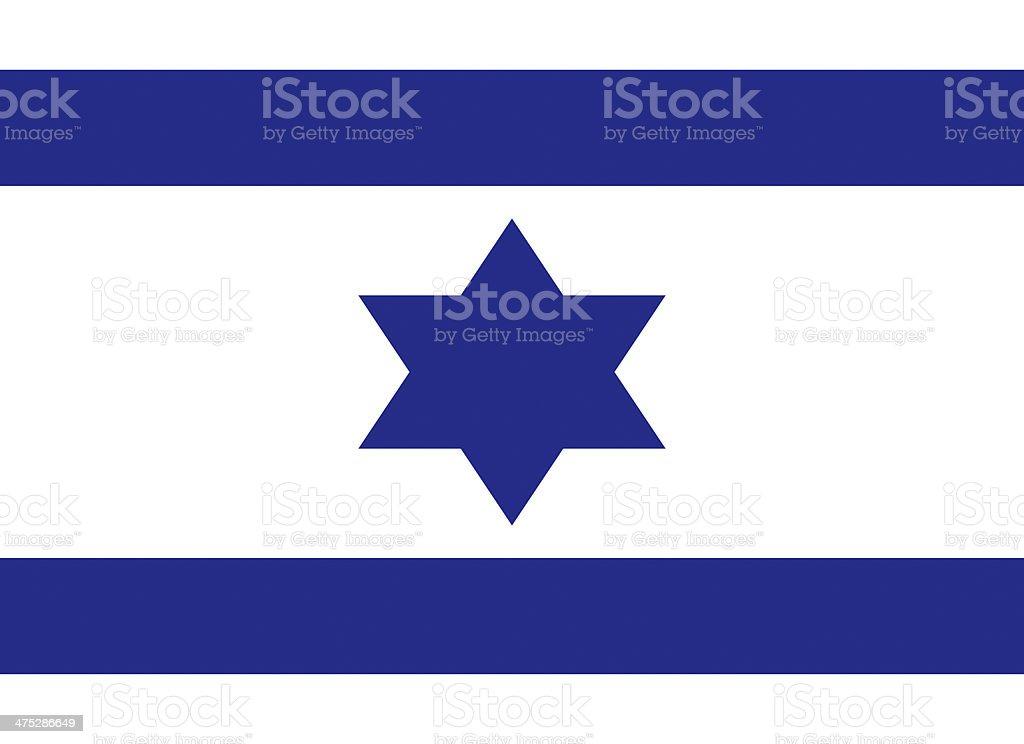 Israel Flag royalty-free stock vector art